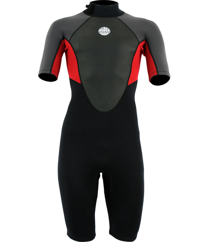 MEN'S IMPACT 3:2 SHORTIE WETSUIT - NEW RED