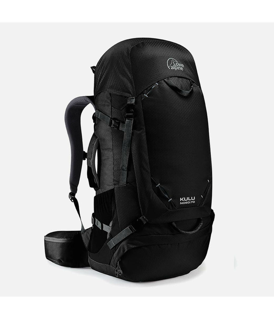 KULU ND60:70L - ANTHRACITE - TRAVEL PACK