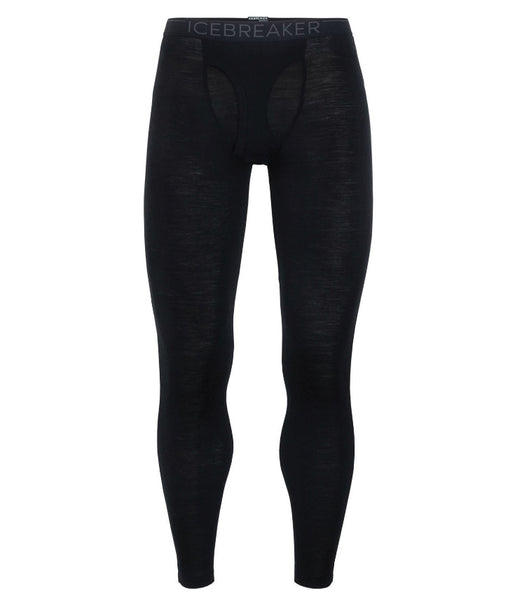 MEN'S 175 EVERYDAY LEGGINGS WITH FLY - BLACK