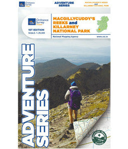 ADVENTURE SERIES KILLARNEY NATIONAL PARK OSI MAP
