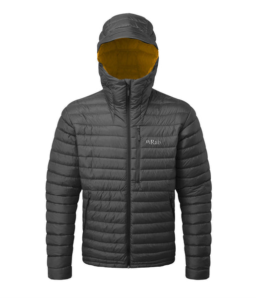 MICROLIGHT ALPINE JACKET - BELUGA/DIJON
