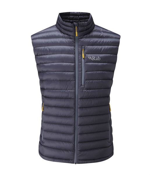 MEN'S MICROLIGHT VEST - STEEL/DIJON