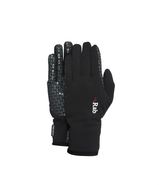 POWER STRETCH PRO GRIP GLOVE - BLACK