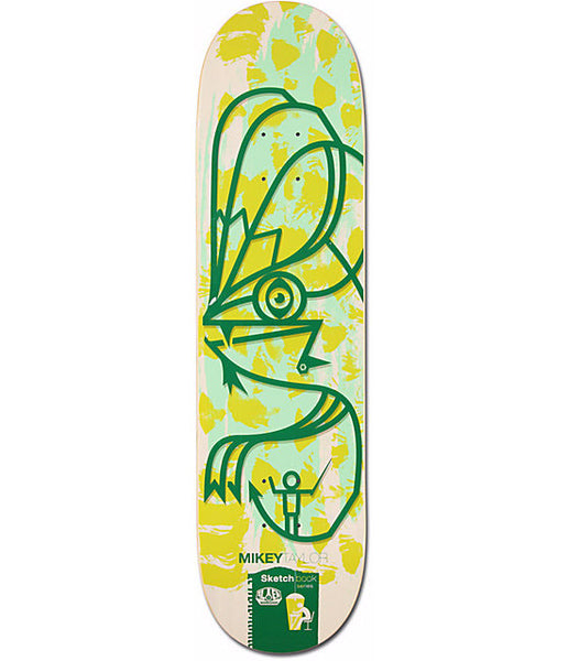 ALIEN WORKSHOP MIKEY TAYLOR SKETCHBOOK DECK