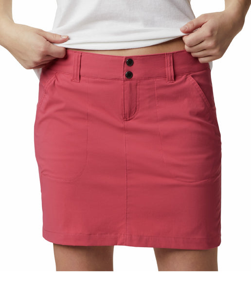 WOMEN'S SATURDAY TRAIL SKORT - ROUGE PINK
