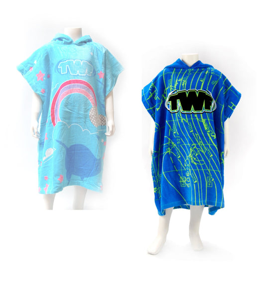 TWF KID'S PONCHO TOWEL (AGES 8 AND UNDER)