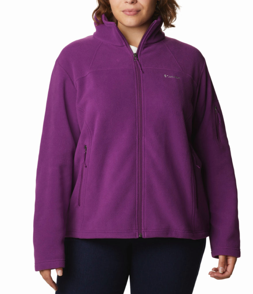 WOMEN'S FAST TREK II FLEECE JACKET - PLUM