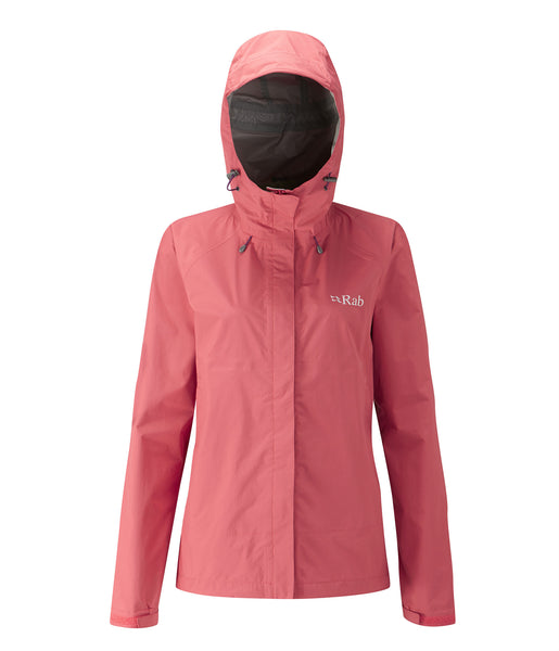 DOWNPOUR JACKET WOMEN'S - CORAL