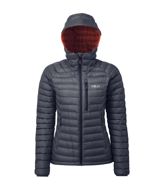 WOMEN'S MICROLIGHT ALPINE JACKET - STEEL/PASSATA