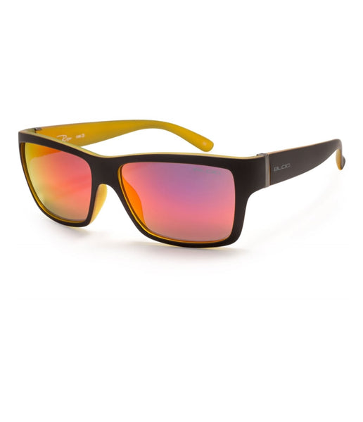 RISER - MATT BLACK/YELLOW FRAME, RED LENS