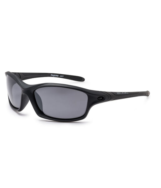 DAYTONA XMP60 POLARISED SUNGLASSES - BLACK FRAME/BLACK LENS