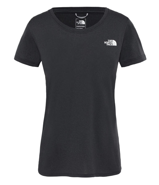 WOMEN'S REAXION AMP CREW - TNF BLACK