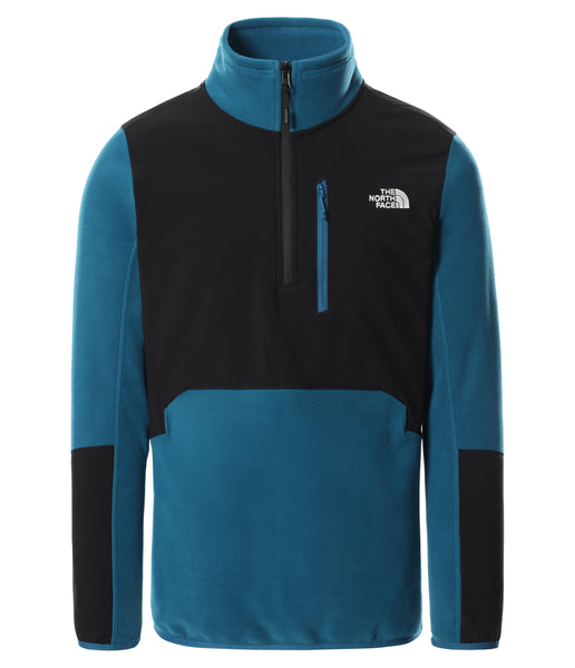 MEN'S GLACIER PRO 1/4 ZIP - MOROCCAN BLUE/TNF BLACK