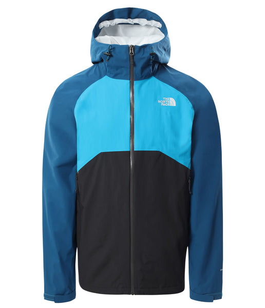 MEN'S STRATOS JACKET - ASPHALT GREY/BLUE