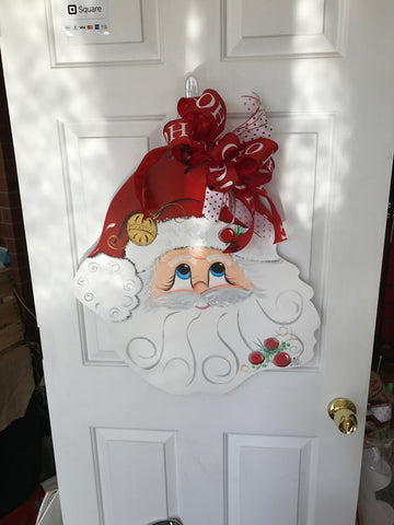 Santa Door Decoration