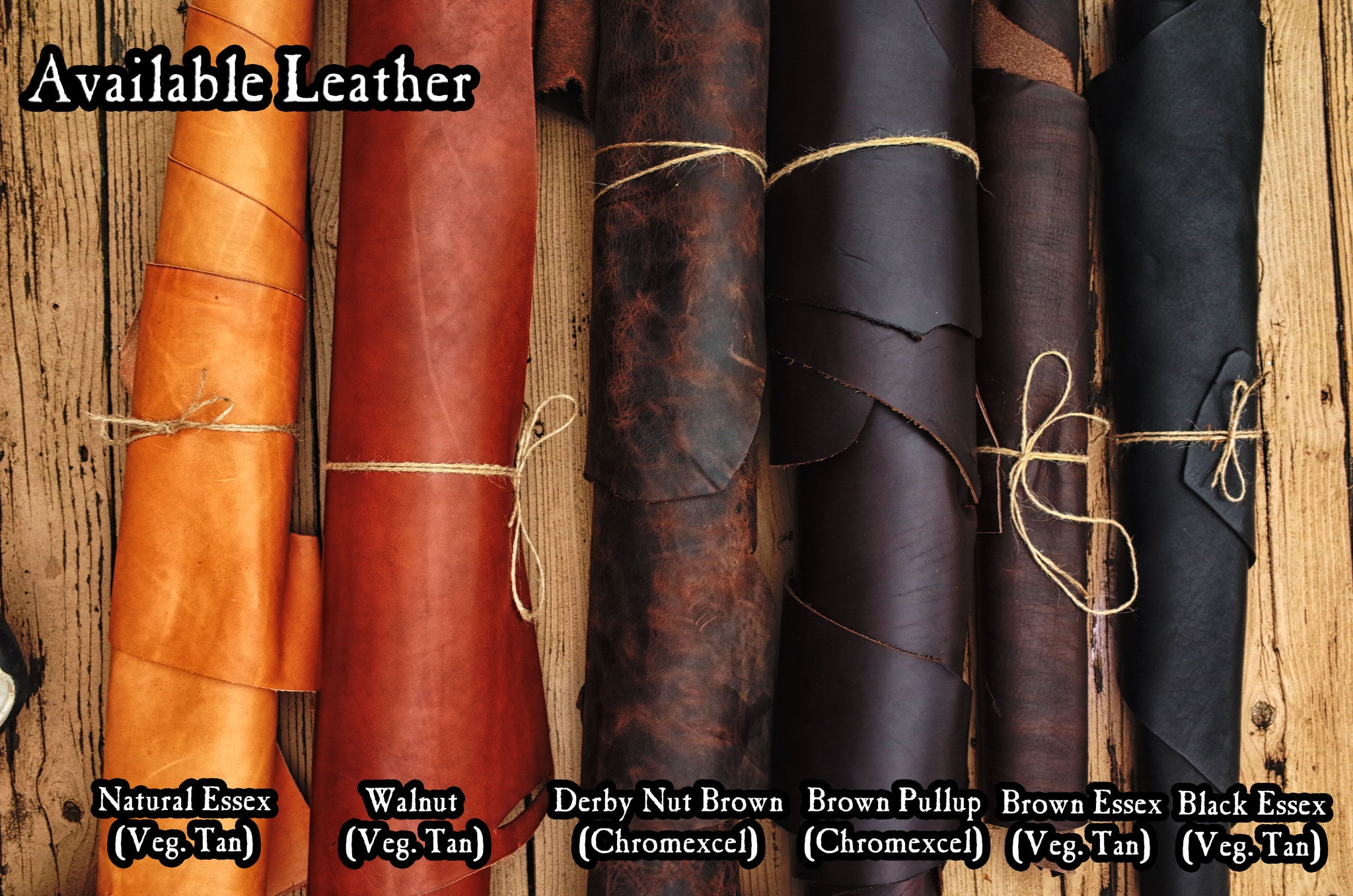 What Leather Colors are Available?