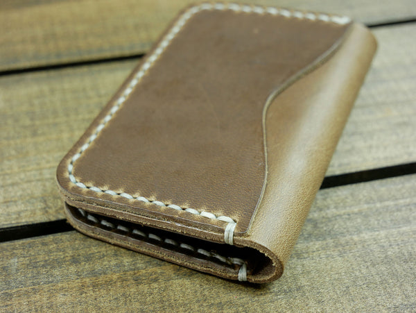471d52cdabd1 Galiano Handmade Leather Front Pocket Card Wallet