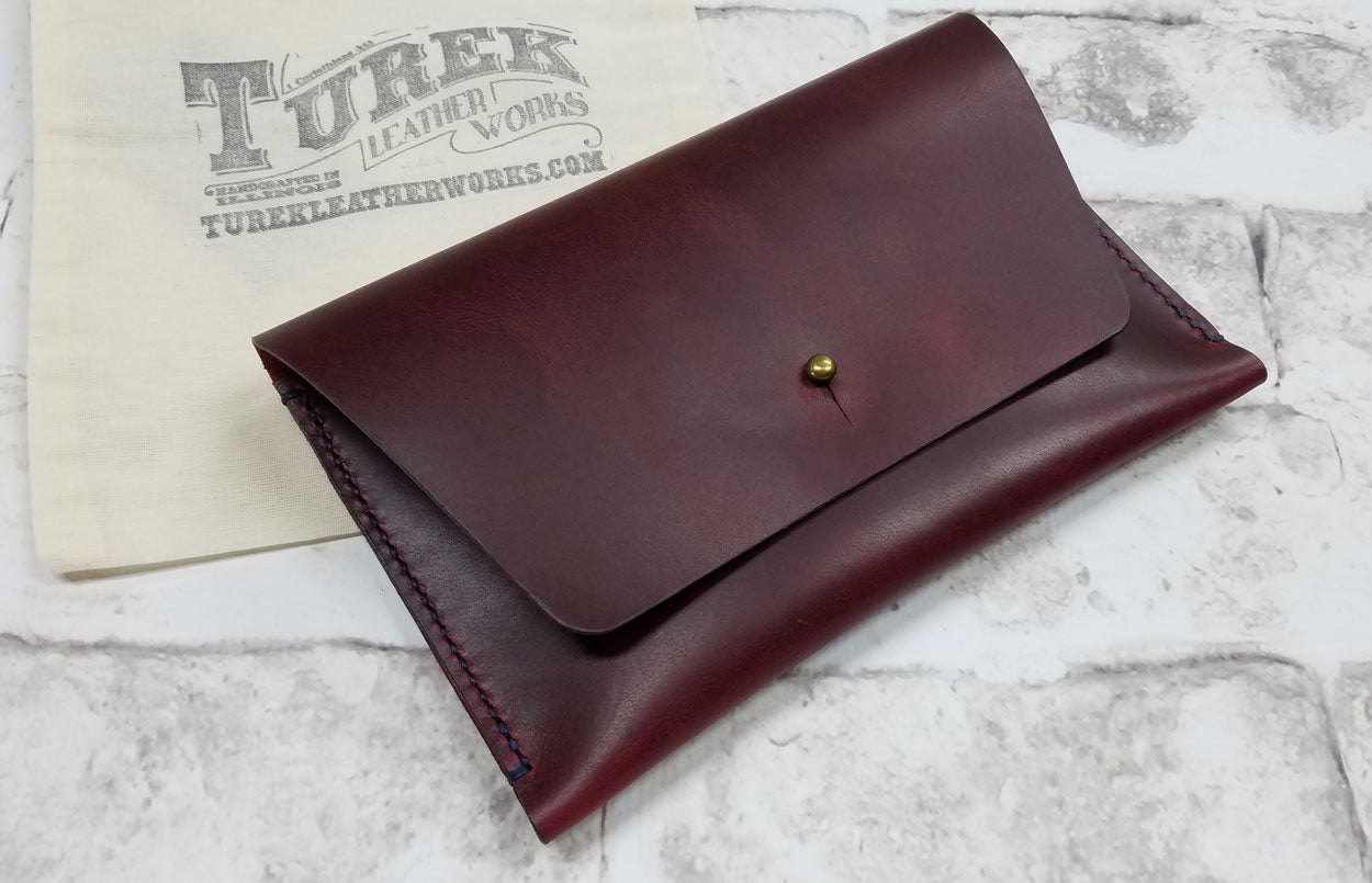c6a5f1211727 Leather Sample - Turek Leather Works