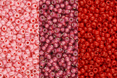4. Pink & Red Beads