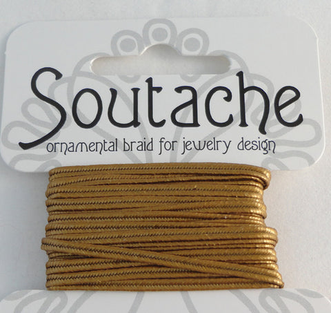 Soutache 275cm Antique Gold