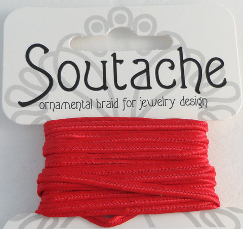 Soutache 275cm Red