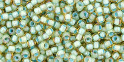 Light Topaz Seafoam Lined