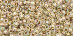 Crystal Rainbow Gold Lined