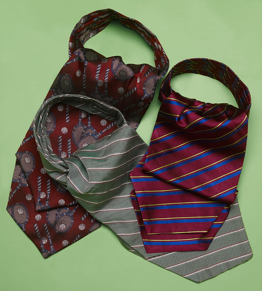 Cravats in English Woven Silk