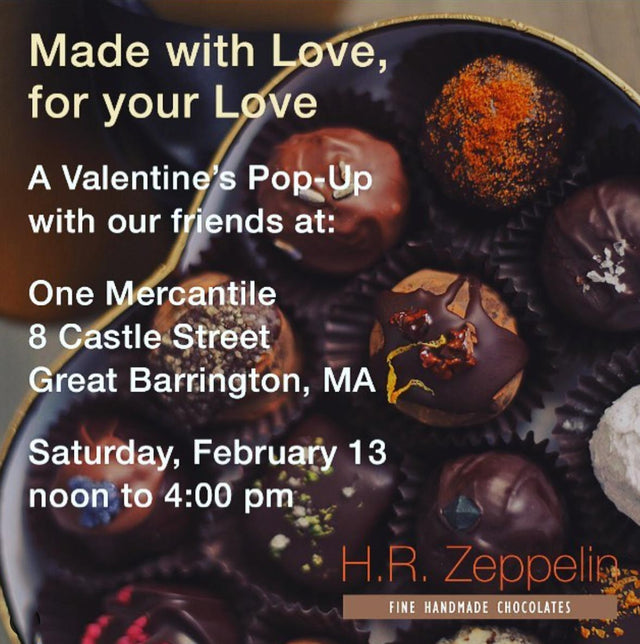 Valentine's Pop-Up with H.R. Zeppelin!