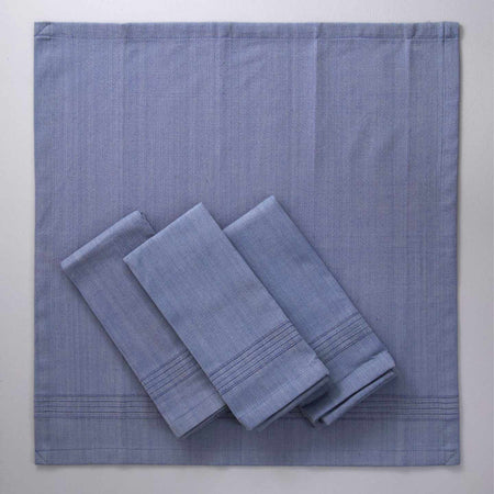 Hand-Woven Heavyweight Cotton Dinner Napkins / 4pc Aroma
