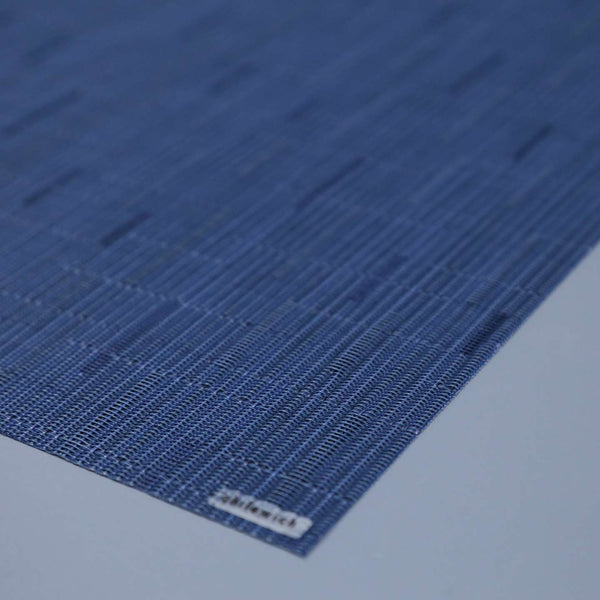 Chilewich Vinyl Placemats / Bamboo Lapis Rectangle