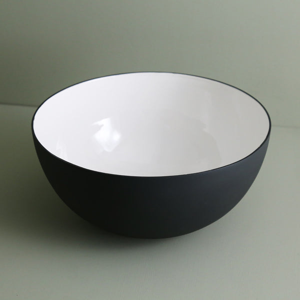 Enameled Steel Serving Bowl / Large