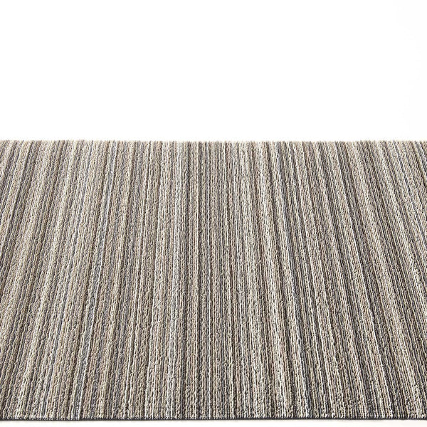 Chilewich Shag Rugs / Skinny Stripe Birch