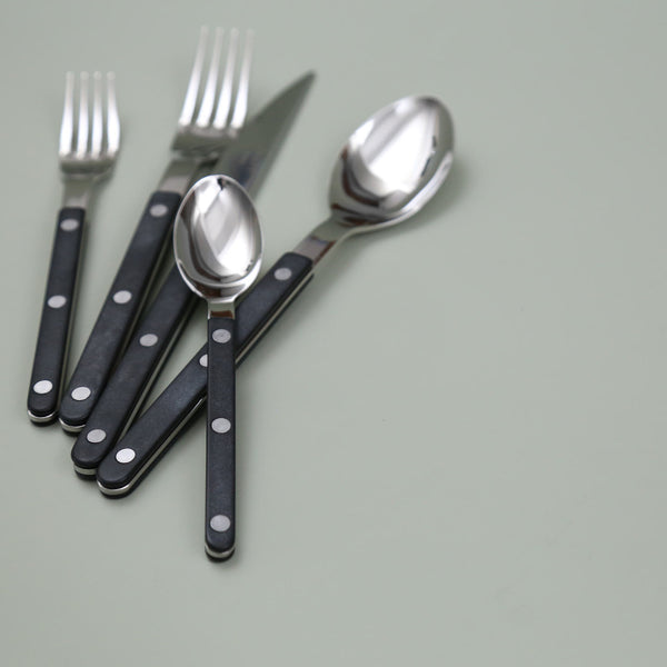 Bistrot Black Flatware / 5pc