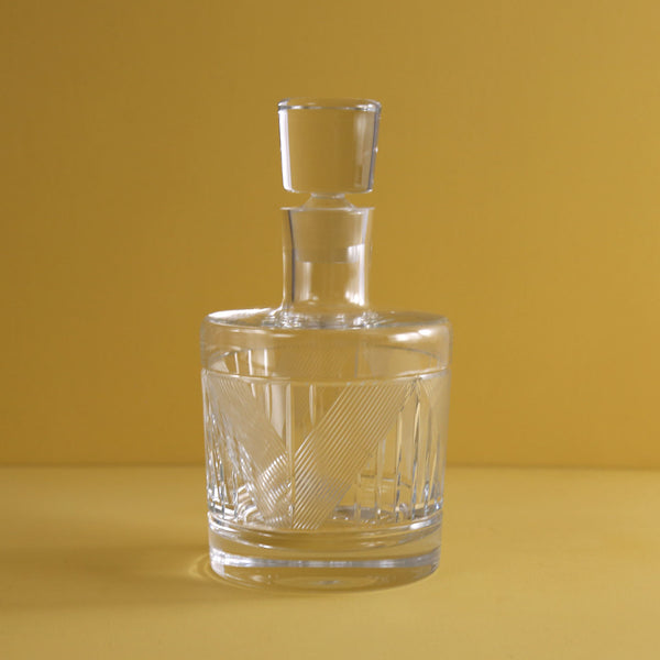 Bleecker Street Etched Decanter