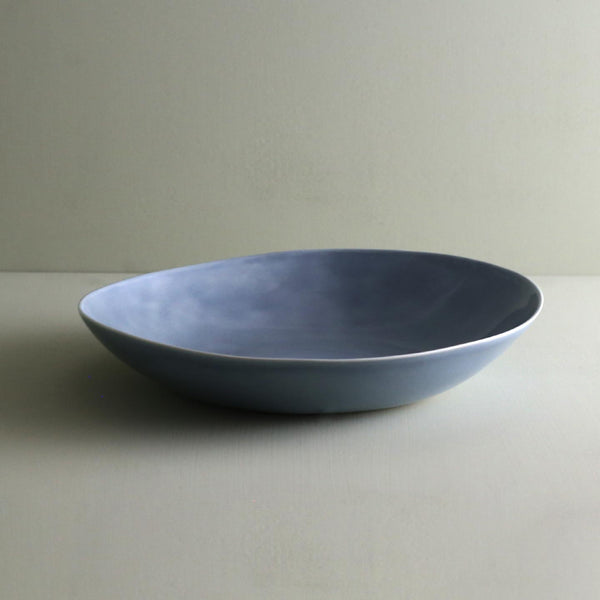 Davistudio Small Low Serving Bowl / Iceberg