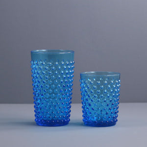 Sofia Blue Hand Blown Tumbler / Tall