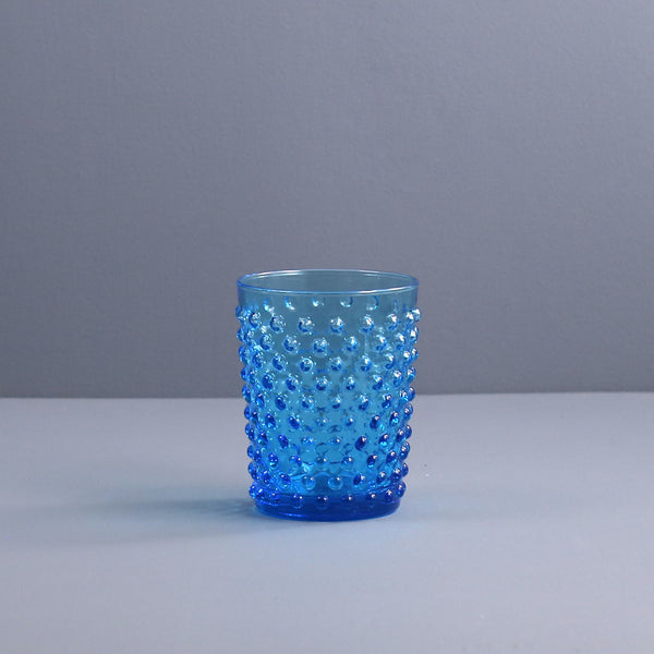 Sofia Blue Hand Blown Tumbler / Short