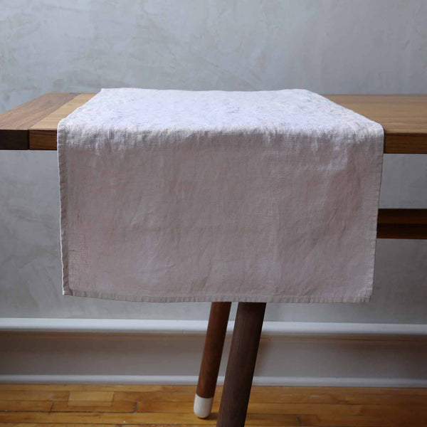Terra Linen Table Runners / Latte