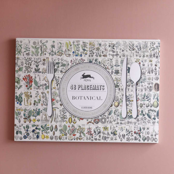 Designer Paper Placemat Packs / Botanical