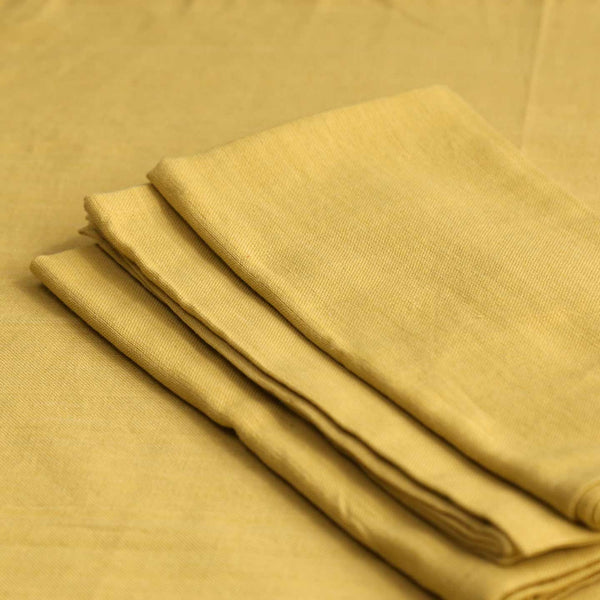 Chartreuse Cotton Napkins / 4pc
