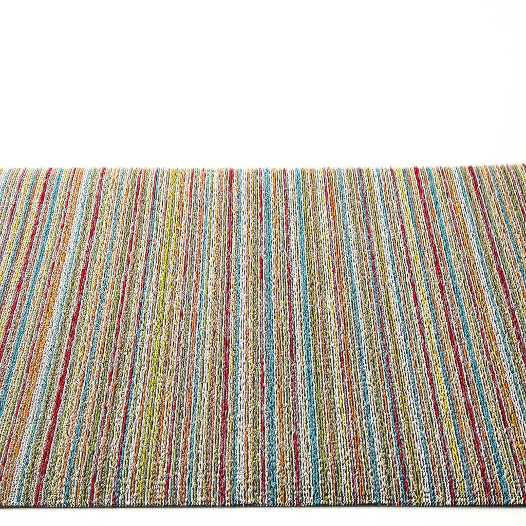Chilewich Shag Rugs / Skinny Stripe Soft Multi