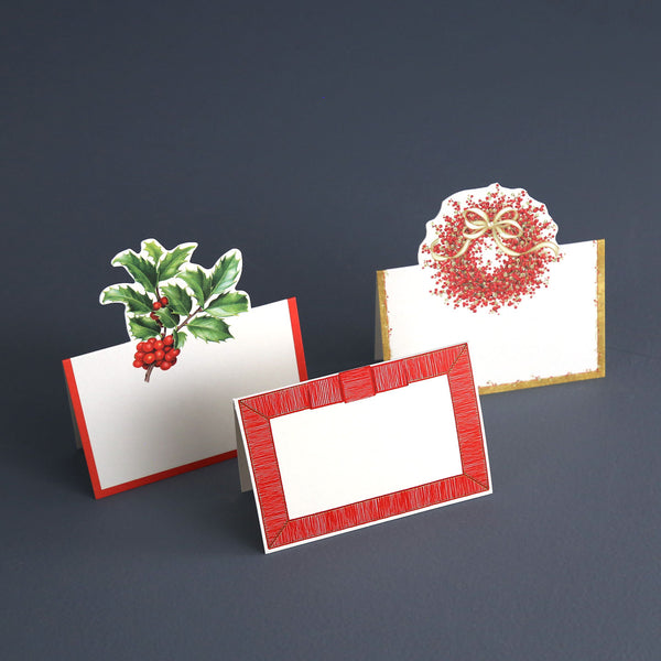 Christmas Caspari Paper Place Cards
