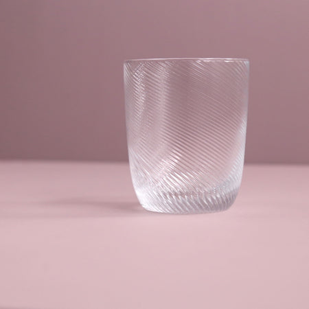 Terris Hand Blown Tumbler / Clear