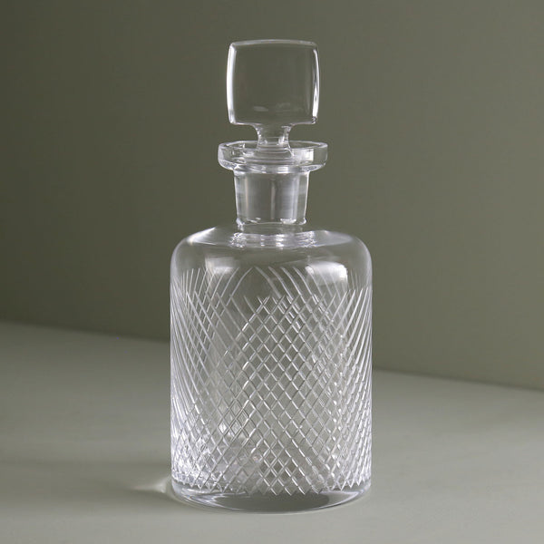 Bourbon Street Etched Decanter