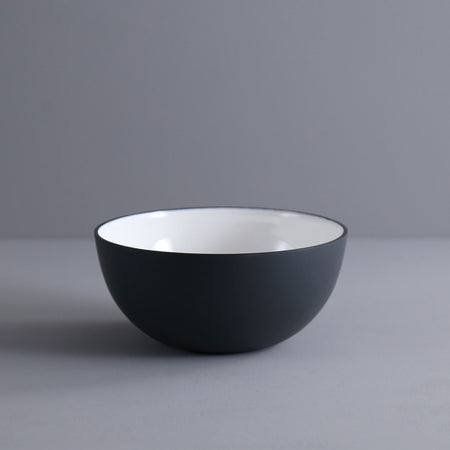 Enameled Steel Serving Bowl / Small