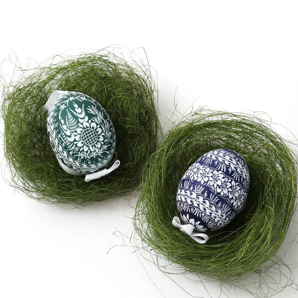 Hand Dyed Etched Eggs