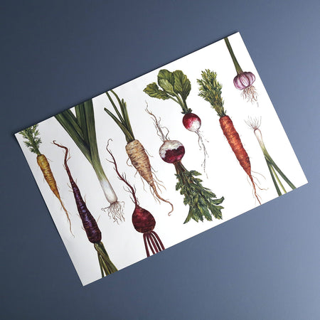 Natural Farmers Market Placemat