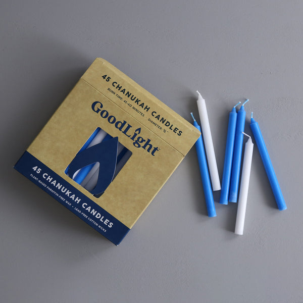 Goodlight Chanukah Candles / 45pc Box