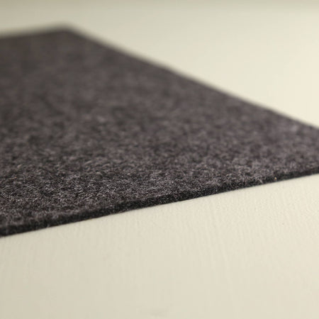 Graf Lantz Felt Table Runner / Charcoal